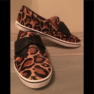 New Without Box Kate Spade Leopard Sneakers, 8.5